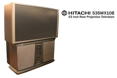 Proyektor Tv hitachi 53swx10b 53 inch rear projection television my grand estate sale