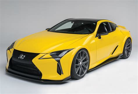 2016 Sema Lexus Unveils A First Of Its Kind Lexus Lc 500