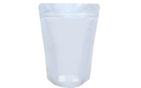 Standing Pouch Transparant With Zipper 250 Gr food plastic packaging supplier propac enterprise