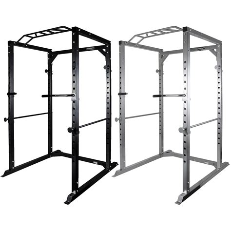 bench press cage mirafit 350kg heavy duty olympic full power cage rack