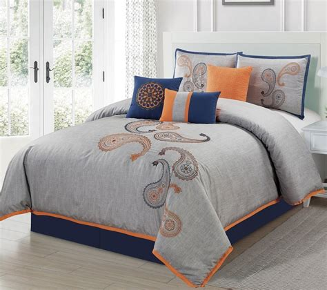 very cheap comforter sets orange and peach bedding sets sale ease bedding with style