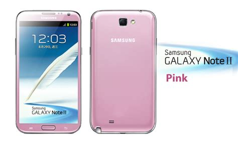 samsung galaxy note ii pink color device spotted on