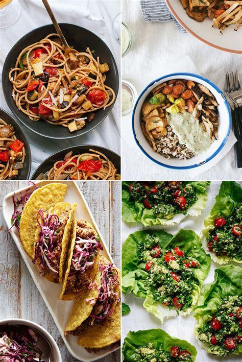 vegan dinner menu recipes fast and easy vegan dinner recipes popsugar food
