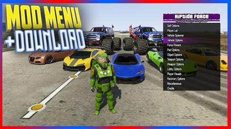 mod gta 5 force ps3 1 26 1 27 free gta 5 mod menu riptide force v1 0