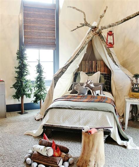 woodland bedroom ideas kids dream rooms awesome kid room theme ideas