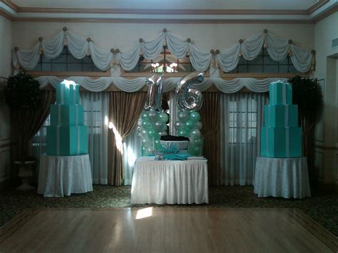 Tiffany Theme   Tiffany Themed Sweet 16 in 2019   Sweet 16