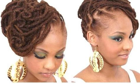 American Wedding Hairstyles Hairdos by American Wedding Hairstyles Hairdos Locs
