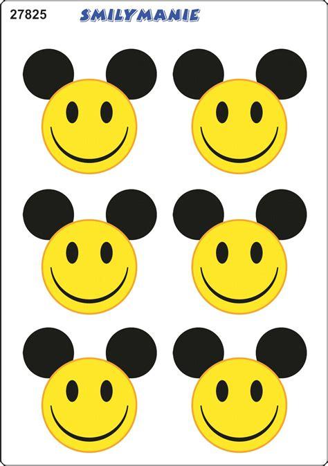 Smiley Bilder Aufkleber by Aufkleber Smily Maus 6er Set 150 X 105 Mm Schneller