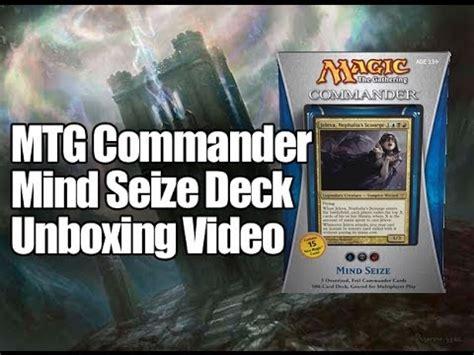 Mtg Commander Deck 2013 by Mtg Commander Deck 2013 Mind Seize Opening Youtube