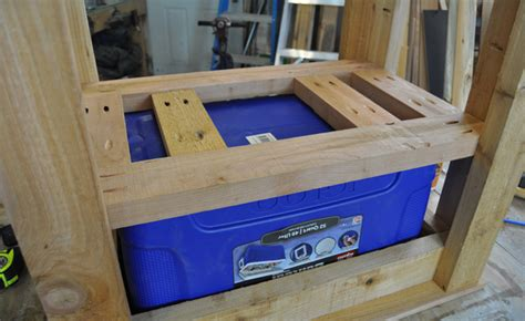 How to Build a Patio Cooler