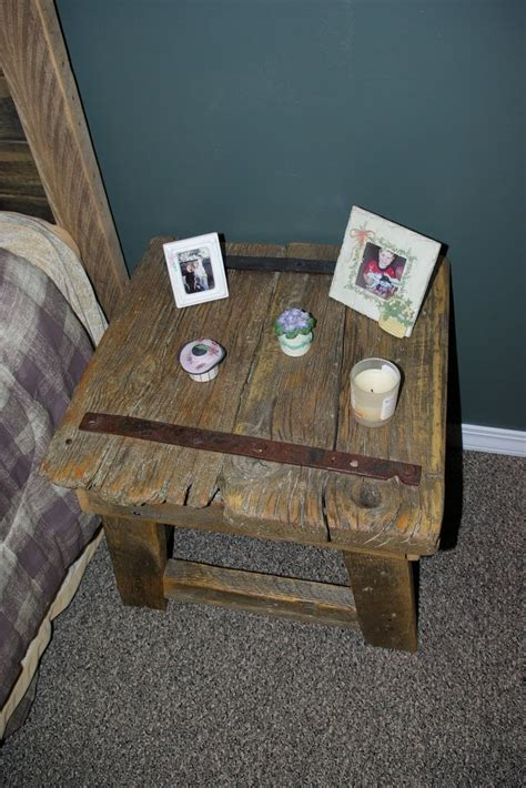 rustic night stand plans woodworking projects plans