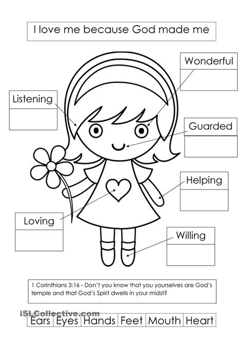 printable coloring pages god made me special god made me i am fearfully and wonderfully made