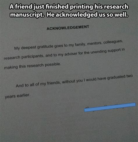 thesis acknowledgement daughter research acknowledgement