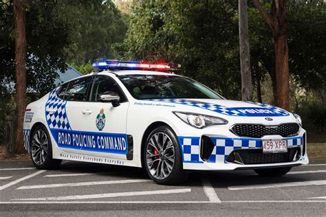 the gallery for gt highway kia stinger gt reports for highway patrol duty in