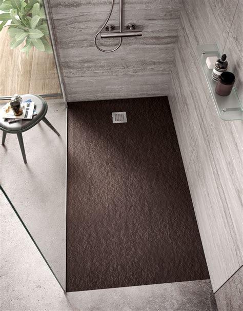 piatto doccia 120x120 nuovi piatti doccia effetto pietra cose di casa