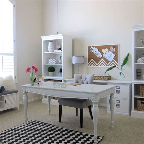 chic home office desk 25 best ideas about shabby chic office on pinterest