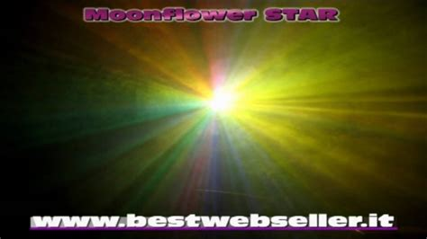 best web seller effetto luce discoteca moonflower bestwebseller