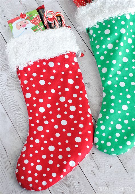 stocking pattern ideas easy christmas stocking pattern crazy little projects