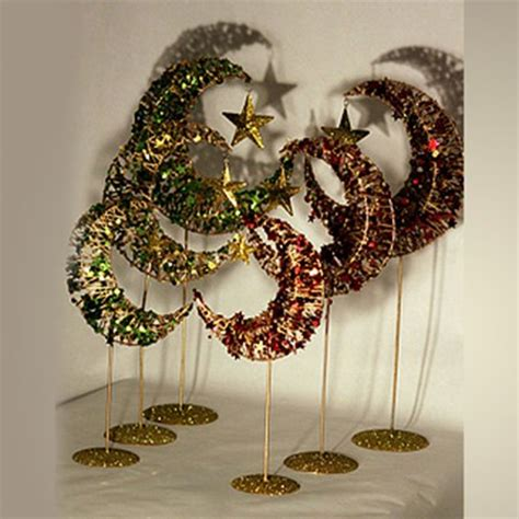 Moon Decor by Islamic Decorations Gifts 3 Tiered Crescent Moon