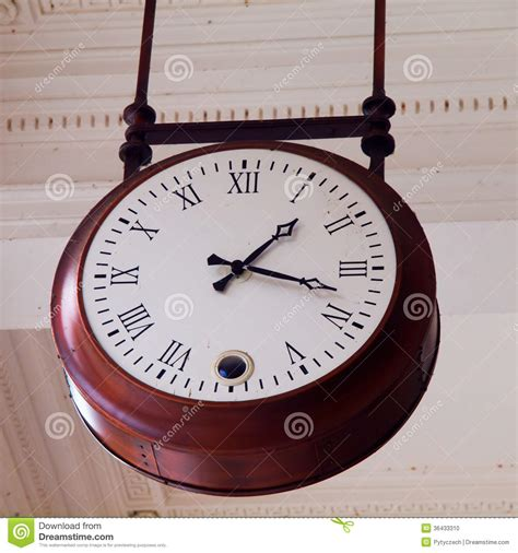 Ceiling Clock by Ceiling Clock Stock Photo Image 36433310