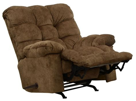 X Rocker Recliner by Catnapper Bronson Chaise Rocker Recliner With X Tra