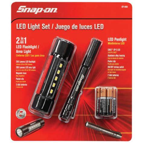 snap on led light set at menards 174