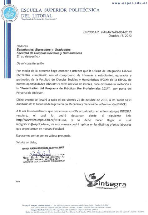 Modelo Curriculum Vitae Practicas Pre Profesionales De Publicaciones De La Fcsh Espol 187 Archive 187 Integra Oportunidad Laboral