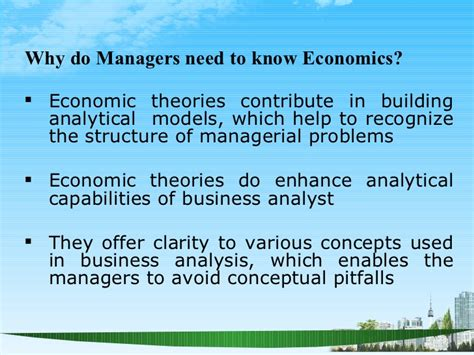 Material Management Ppt For Mba by Managerial Economics Ppt Baba Mba 2009