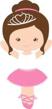Cute girl with ballerina clipart clipartfest