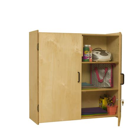 locking wall storage cabinet school specialty marketplace