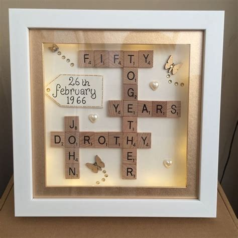 Handmade Gifts For Anniversary - 25 best ideas about 50th anniversary gifts on