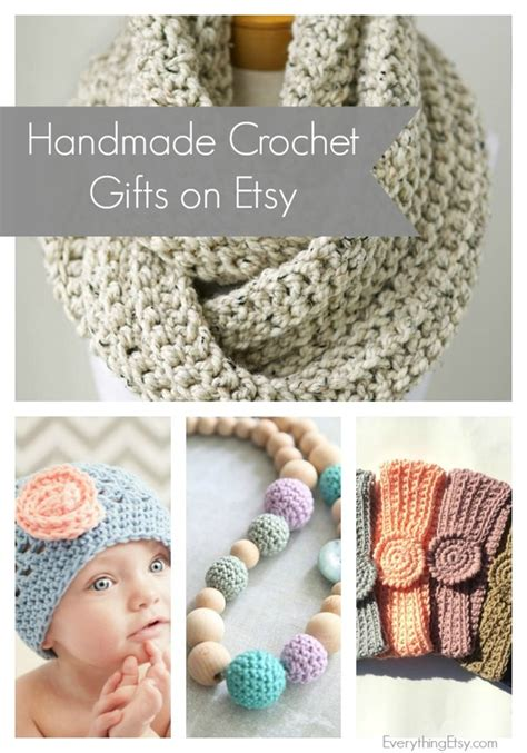 Handmade Gifts Etsy - handmade crochet gifts on etsy everythingetsy