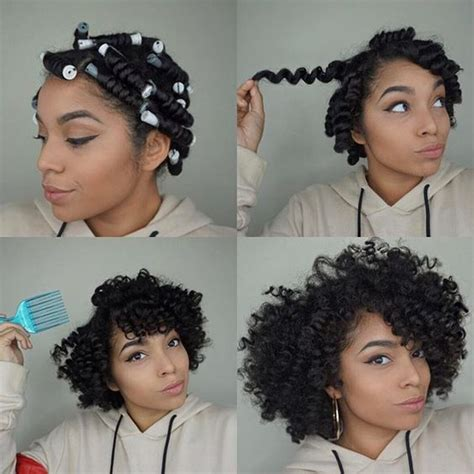 perm rod set for heat damaged transitioning natural hair how to restore natural curl pattern to heat damaged hair