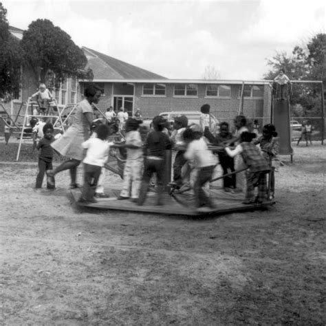 boarding tallahassee florida memory day care center children on playground at lincoln high