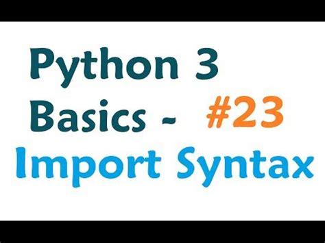 instagram python tutorial import