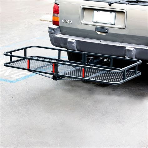 Truck Hitch Rack by 60 Quot Folding Truck Car Cargo Carrier Basket Luggage Rack