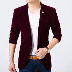 light colored mens aliexpress buy mens velvet blazer new fashion slim