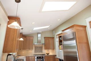 under counter microwave dc metro by meredith ericksen skylights wash the room in light traditional kitchen