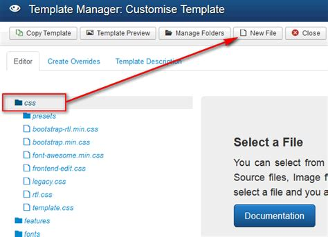 Custom Code Settings Joomlead Css File Template