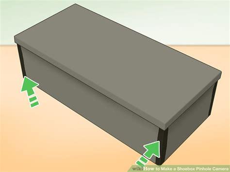 pinhole box 3 ways to make a shoebox pinhole wikihow
