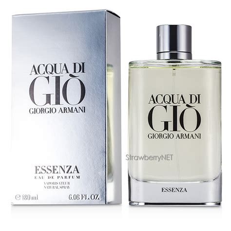 Parfum Acqua Di Gio Essenza acqua di gio essenza acqua di gio essenza eau de parfum spray 180ml 6 08oz