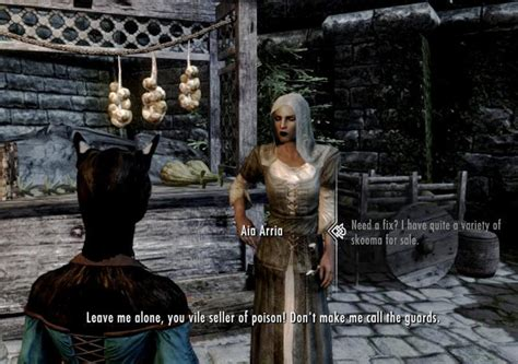 skyrim mod skooma dealer become a skooma dealer 日本語化対応 その他 skyrim mod データベース mod