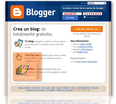 tutorial crear blog en blogger como crear un blog blogger taringa