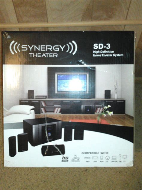 synergy home theater system sd  high definition ht pro