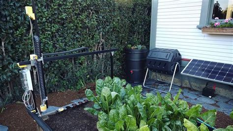 l orto di casa dalla california arriva il robot che fa l orto di casa