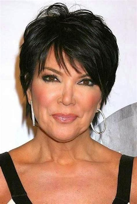 does kris jenner have thick hair 20 best of short haircuts kris jenner