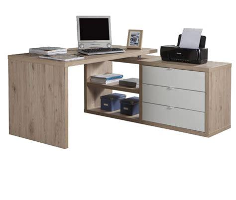 scrivania rovere scrivania angolare rovere bordeaux mobile angolare