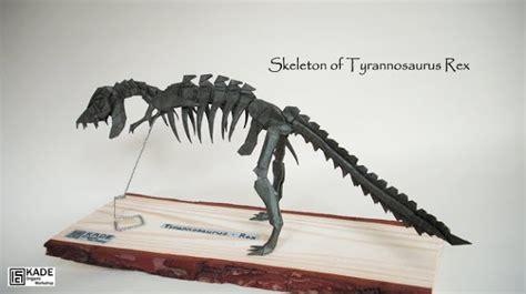 kade chan origami 香港摺紙工作室 日誌 skeleton of