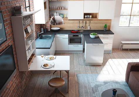 Grey Blue Kitchen Cabinets by Viel Platz Auf Wenig Raum K 252 Chenplaner Magazin