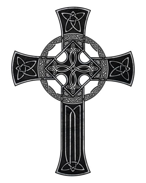 pics of celtic cross tattoos wonderful black celtic cross design